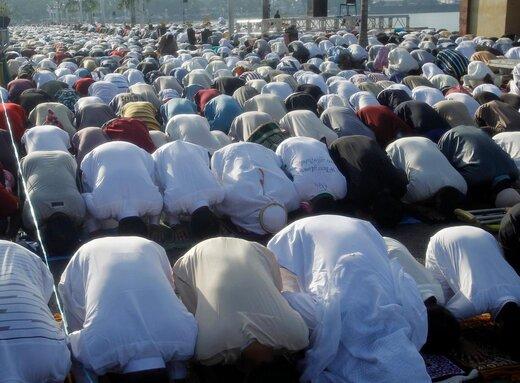 اقامه نماز عید قربان در شهر زامبوانگا فیلیپین