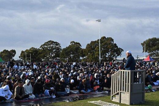 اقامه نماز عید قربان در سیدنی