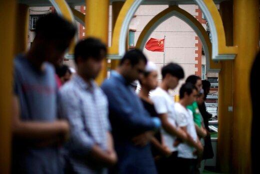اقامه نماز عید قربان در شهر شانگهای چین
