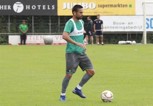 احتمال تمدید قرارداد ابراهیمی با باشگاه بلژیکی