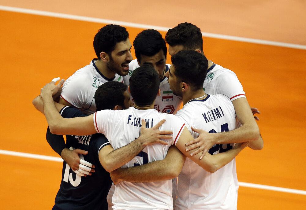 Iran beats Mexico at FIVB Tokyo Volleyball Qualification