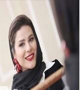 «سحر دولتشاهی» در یک مراسم/ عکس