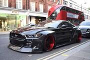 تصاویر | خوشگذرانی شاهزادگان عرب با خودروهای لاکچری در خیابانهای لندن