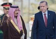اردوغان به پادشاه سعودی تبریک گفت