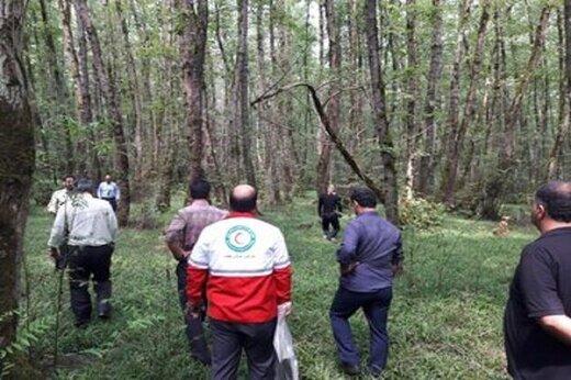کشف جسد حلق آویزشده جوان23ساله در جنگل گیسوم