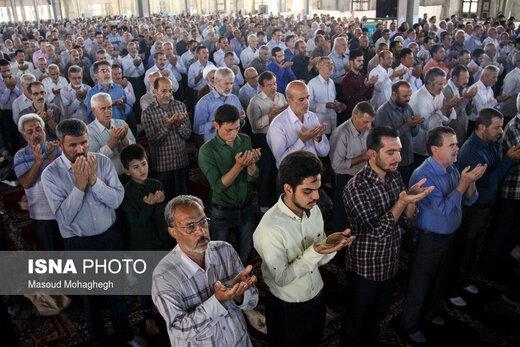 اقامه نماز عید قربان در سمنان