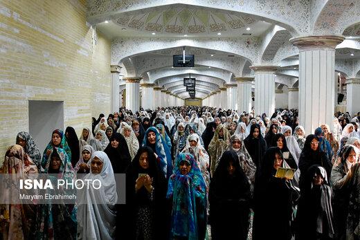 اقامه نماز عید قربان در مصلی امام خمینی(ره) تبریز