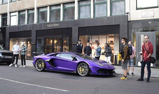 خوشگذرانی شاهزادههای عرب در خیابانهای لندن