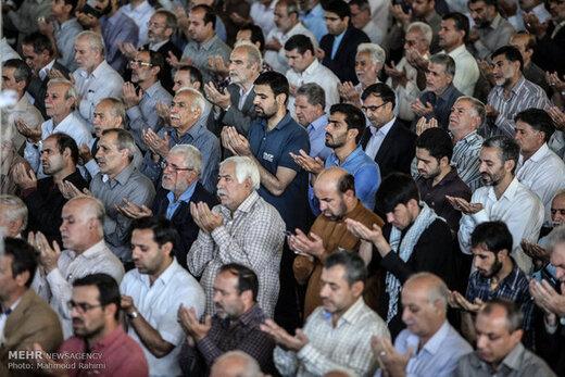 نماز عید سعید قربان در خرمآباد اقامه شد