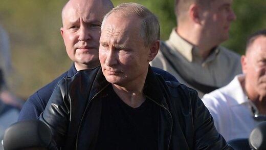 تصاویر منتشر شده از پوتین، خشم اوکراینی ها را برانگیخت/عکس