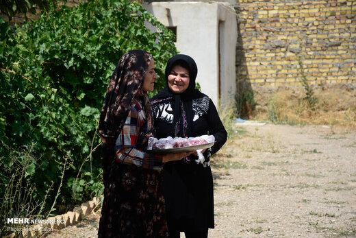 عید قربان در روستای کهلا استان زنجان