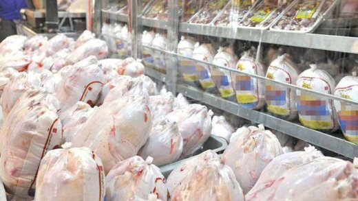 مرغ روی کیلویی ۱۵ هزار و ۵۰۰ تومان ماند