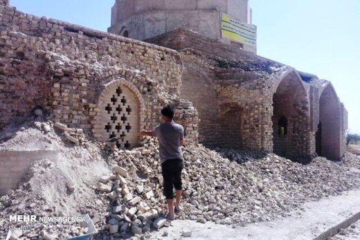 توضیح میراث فرهنگی خوزستان درباره تخریب آرامگاه یعقوب لیث