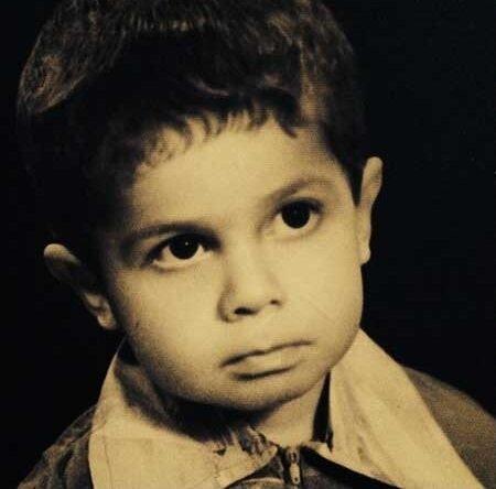عکسی از دوران کودکی سیدجواد رضویان