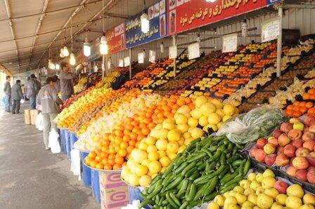 جدیدترین قیمت میوه و صیفی/موز ٣۴ هزار تومان شد