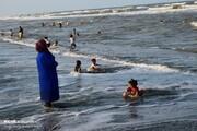 تصاویر | تفریح در منطقه شنا ممنوع!