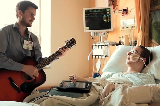 فیلم | اثری عجیب که موسیقی بر روی بهبودی بیماران میگذارد