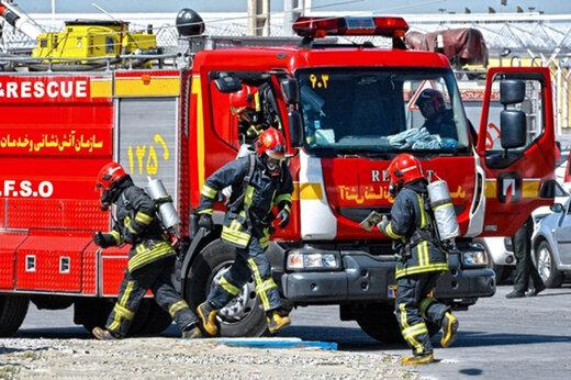 زمان رسیدن خودروهای آتشنشانی در تهران چقدر است؟/ توضیح مدیرعامل آتشنشانی