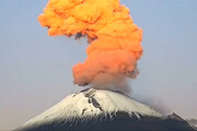فیلم | فوران مهیب آتشفشان در فیلیپین