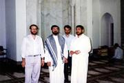 عکسی قدیمی از علی لاریجانی و محسن رضایی با تیپهای متفاوت