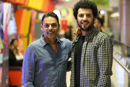 فیلم | شیوه خاص پیمان معادی برای تبریک تولد سعید روستایی