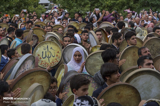 جشنواره بینالمللی «دف نوای رحمت» در سنندج