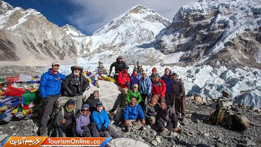 هشت: رسیدن به محل کمپ اورست –نپال-