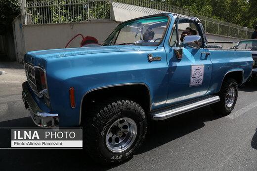 رالی تور شهری وسیله های نقلیه تاریخی