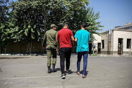 دستگیری برادران سارق خودرو