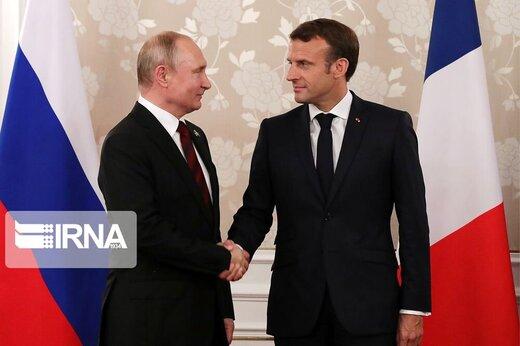 خبرگزاری فرانسه: ایران یکی از موضوعات مهم دیدار مکرون و پوتین است