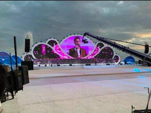 تمجید رییس جمهور ترکمنستان از موسیقی پاپ ایرانی
