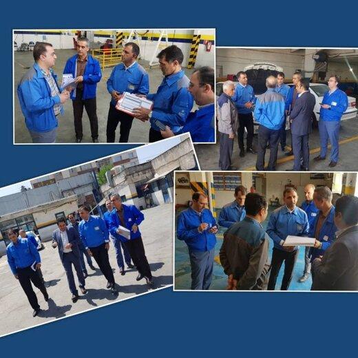 مدیران ارشد خدمات پس از فروش ایرانخودرو به استان مرکزی سفر کردند
