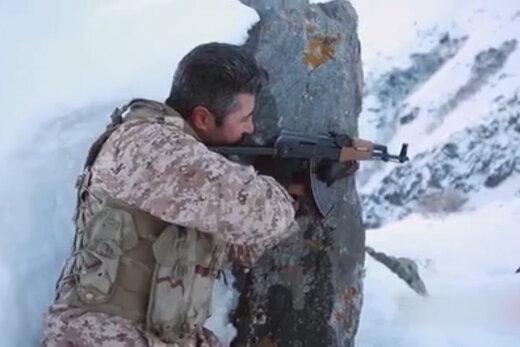 فیلمی دیده نشده از آتش سنگین نیروی زمینی سپاه بر اشرار ضدانقلاب