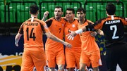 Iranian futsal club ranks 2nd in Asia