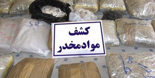 قاچاقچی تریاک با شاسیبلند لاکچری بازداشت شد