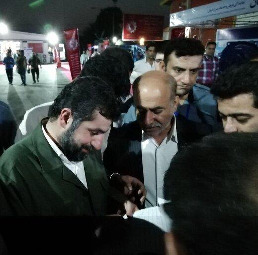 افتتاح نمایشگاه تخصصی قطعات و تجهیزات فولاد خوزستان