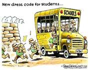 لباس جدید دانشآموزان آمریکایی رونمایی شد!