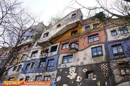 معماریهای عجیب و کمی غریب هاندرتواسر