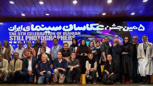 امید صالحی عکاس سال سینمای ایران شد/معتمد آریا:بهتراست حرکت عکاسان سینما در پیگیری امنیت شغلی را با جان و دل بپذیریم