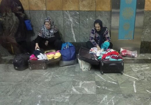 موضع شهرداری درباره دستفروشان مترو