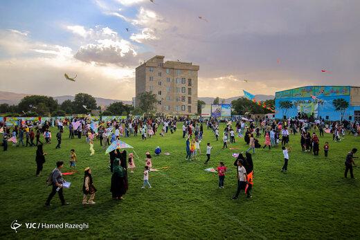 جشنواره بادبادکها در زنجان