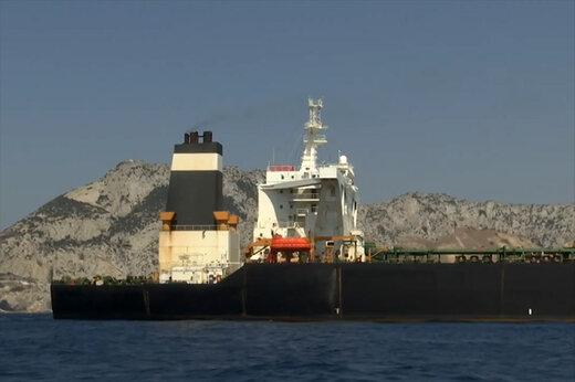 فیلم | نفتکش ایرانی «گریس» با تغییر نام به «آدریان دریا» راهی مدیترانه شد