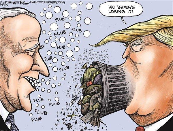 دعوای نتخاباتی ترامپ و بایدن را بینید!