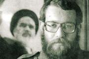 تصویری از علی لاریجانی در دهه شصت در لباس سپاه پاسداران