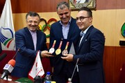 عقد تفاهم نامه حمایت شرکت آسان پرداخت از فدراسیون دو ومیدانی برای چهارمین سال متوالی