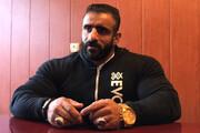 گرگ ایرانی نفر سوم مسترالمپیا شد