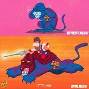 تفاوت بارسلونا با مسی و بدون مسی را ببینید!