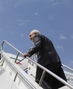 FM Zarif departs for Kuwait