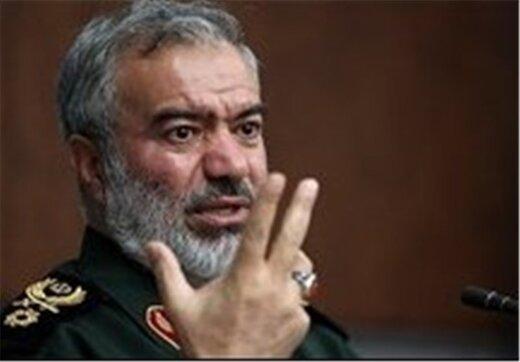 سردار فدوی به آمریکا: فکر حمله به ایران را به مخیله خود راه ندهید/قدرت سپاه در تنگه هرمز افزایش یافته است