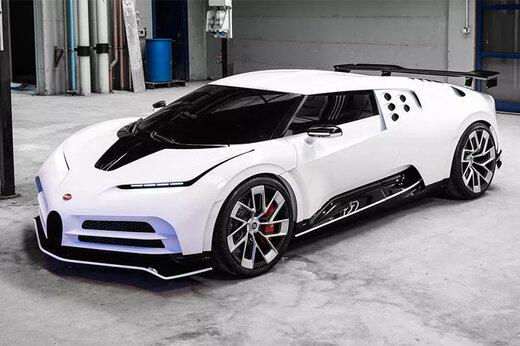 فیلم | خودروی 9 میلیون دلاری و سوپراسپرت بوگاتی را ببینید